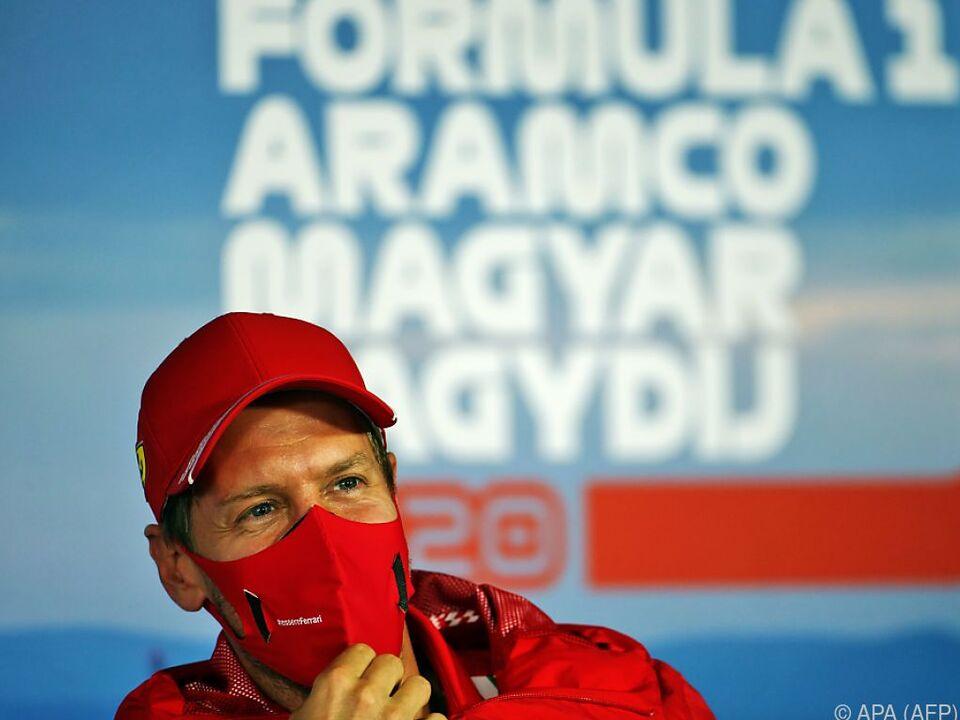 Vettels Zukunft war naturgemäß Thema bei der Pressekonferenz