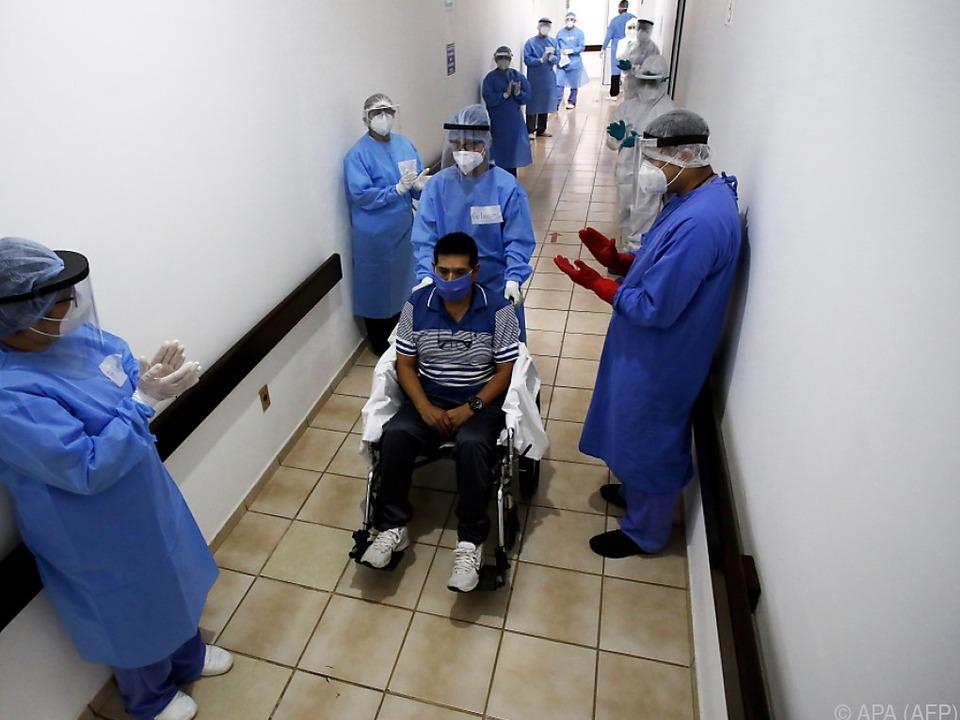 Virus in Mexiko weiter auf dem Vormarsch