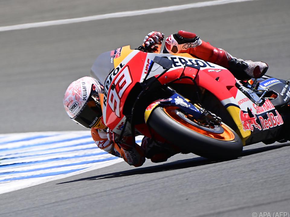 Wann Marquez wieder auf seine Honda steigen kann, ist noch offen