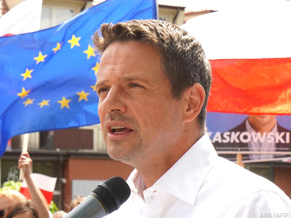 Warschauer Bürgermeister Rafal Trzaskowski rührt in Polens Politik um