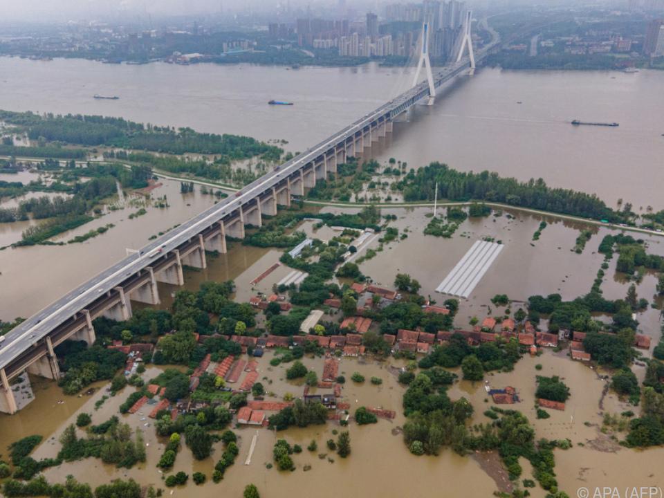 Wuhan von massiven Überschwemmungen betroffen