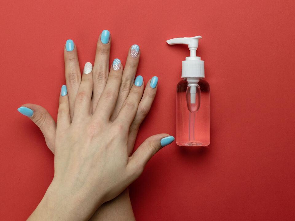 Corona Hygiene Hand