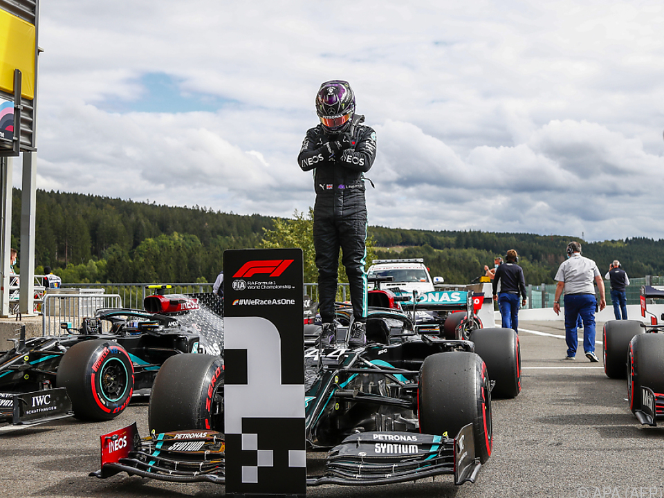 93. Pole Position für Lewis Hamilton