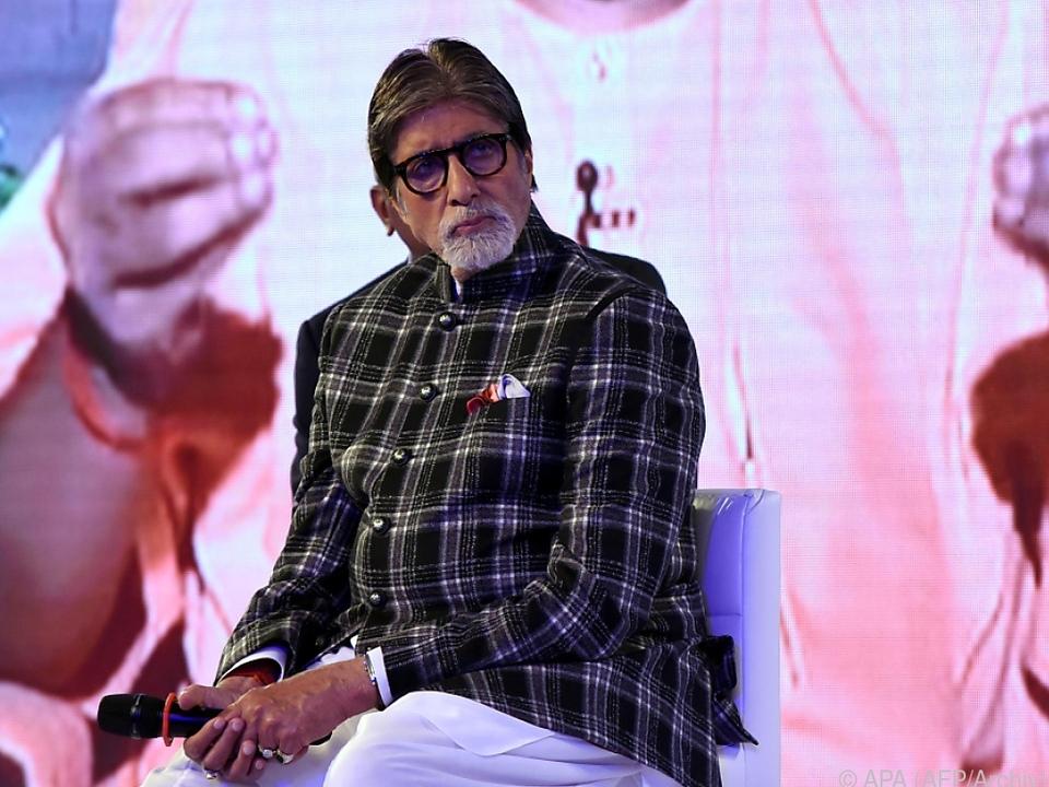 Amitabh Bachchan zählt zu den bekanntesten Schauspielern Indiens