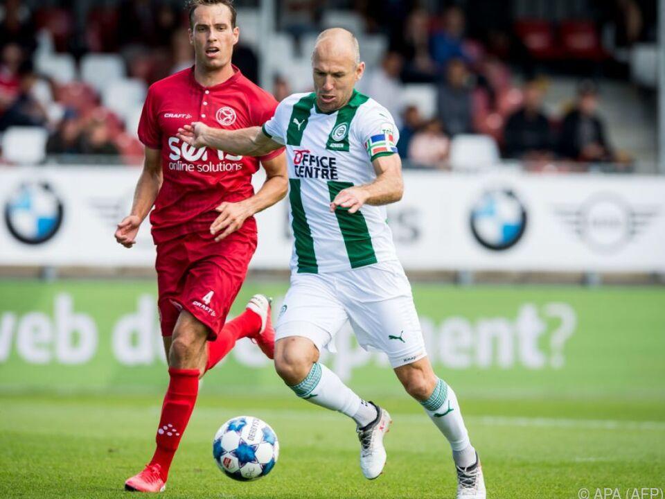 Arjen Robben spielt wieder