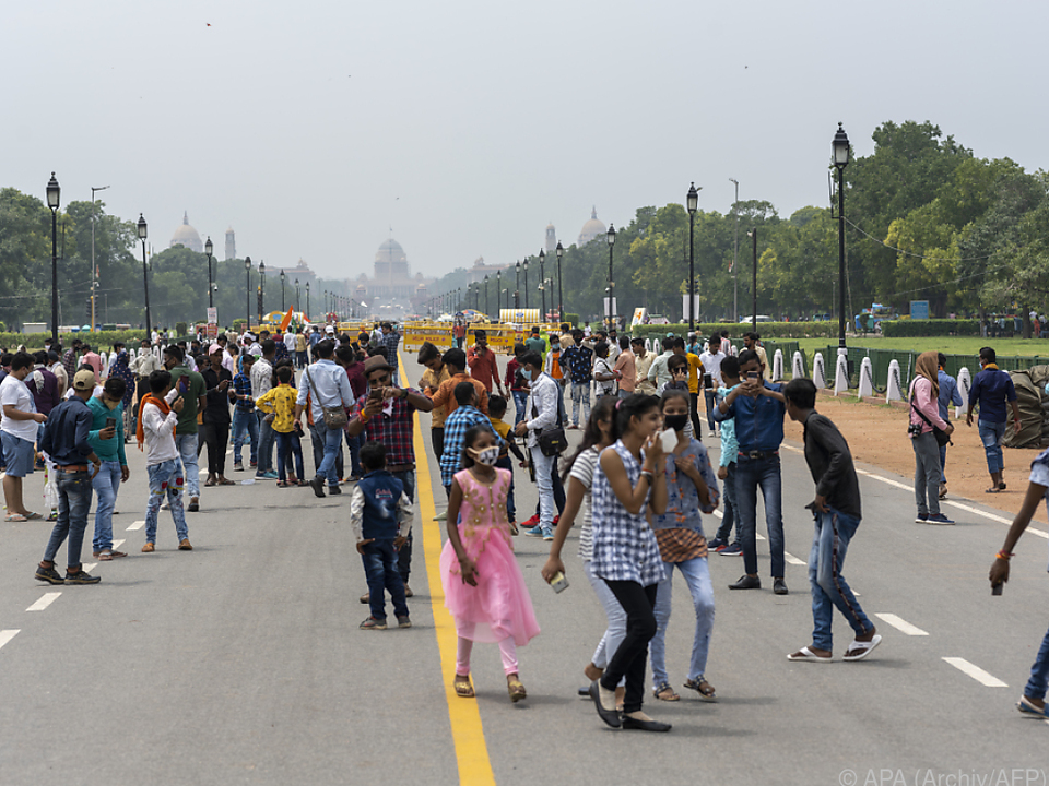 Auch Indien kämpft mit dem Coronavirus