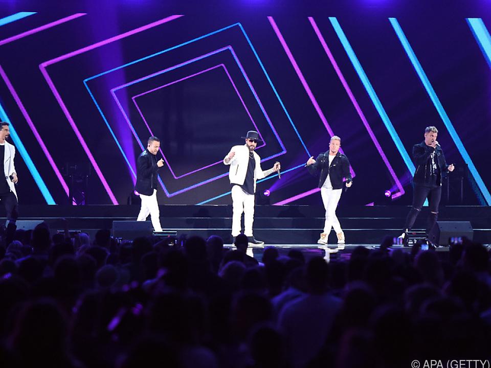 Backstreet Boys wollen ihre Geschichte mit den Fans teilen