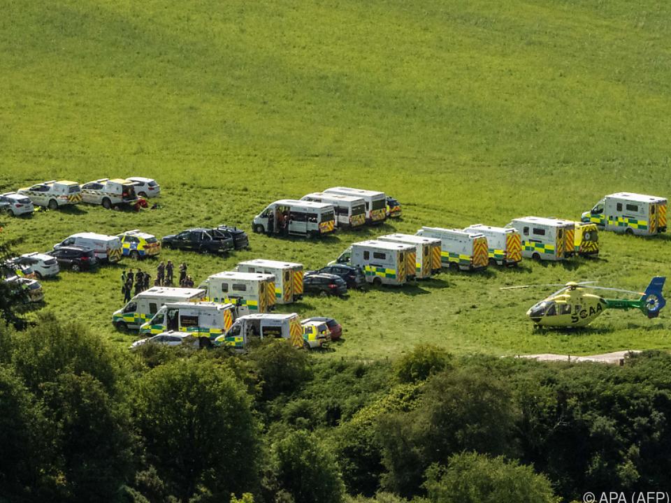 Bei dem Unglück soll es mehrere Schwerverletzte gegeben haben
