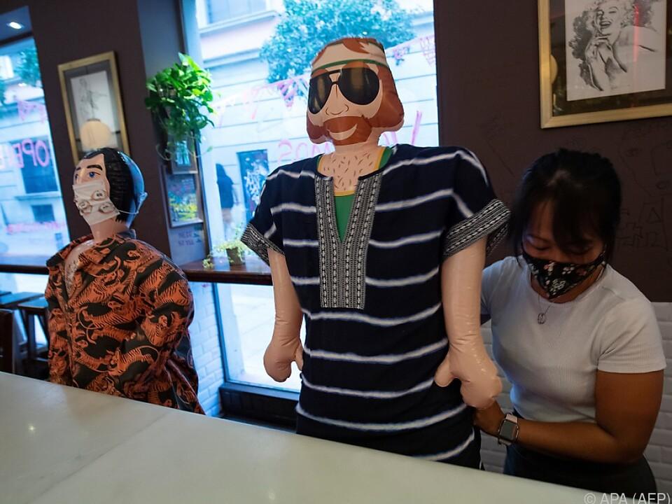 Bei den Kunden kamen die Puppen gut an
