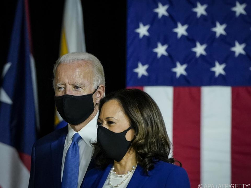 Biden und Harris zeigten sich angriffslustig