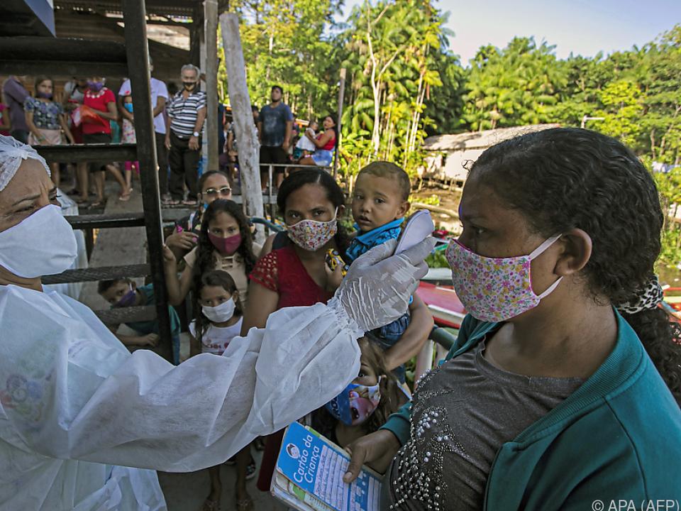 Brasilien wurde besonders hart getroffen vom Virus