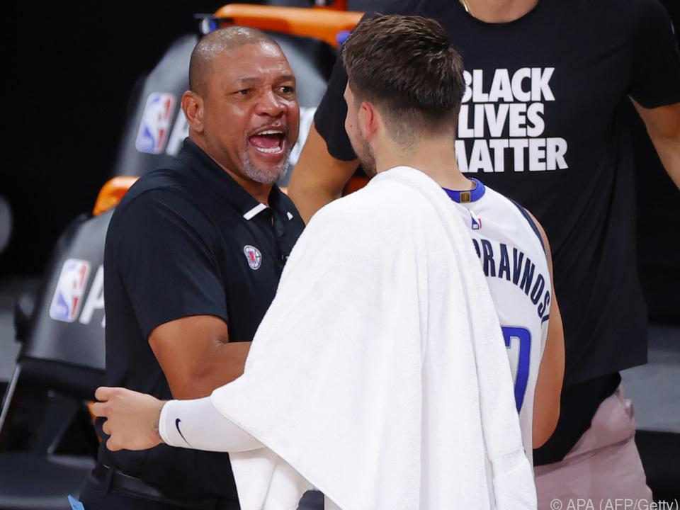 Coach Doc Rivers\' Clippers sind eine Runde weiter