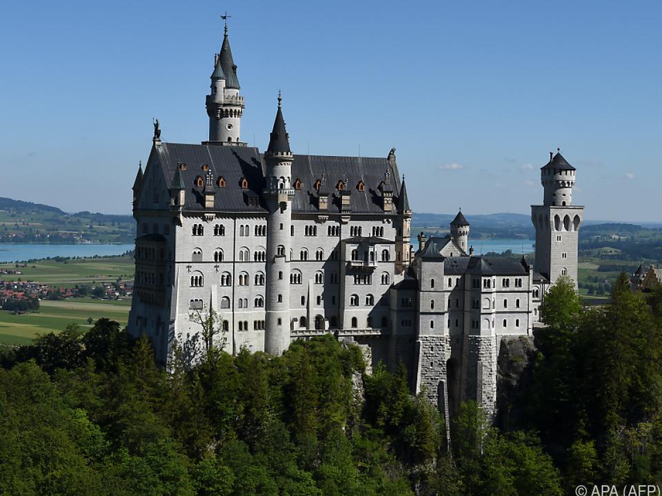 Das berühmte Schloss wird derzeit umfassend saniert