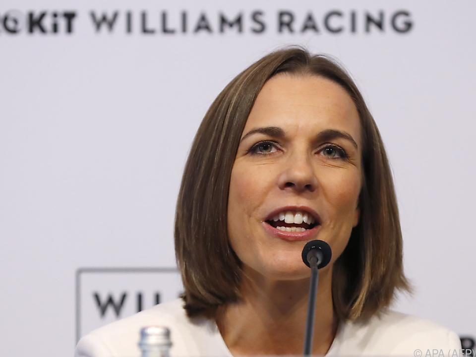 Das Team sei in guten Händen, so Claire Williams
