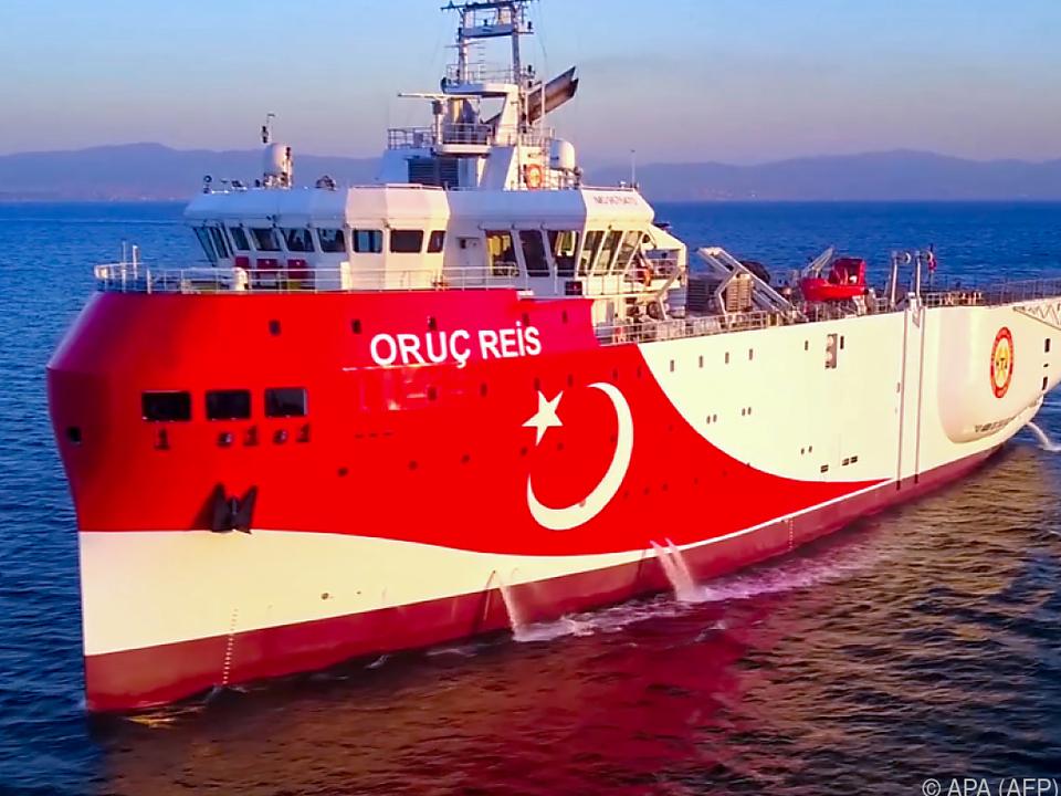 Das türkische Forschungsschiff \