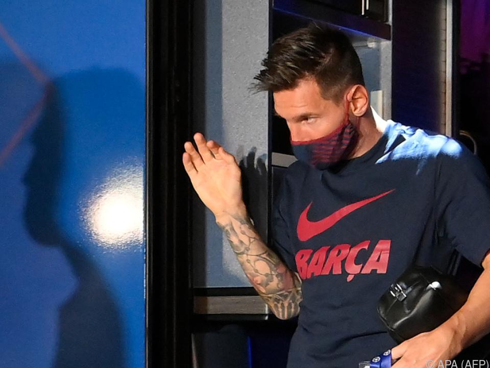 Das war es wohl mit Messis langer Karriere bei Barcelona