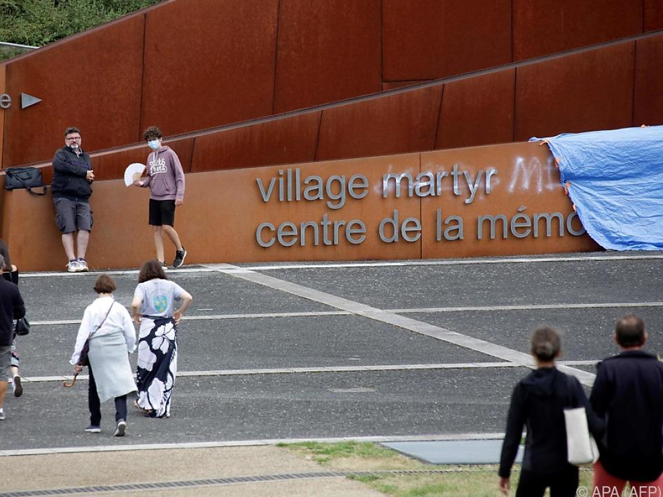 Frankreich - Gedenkstätte in Oradour-sur-Glane geschändet