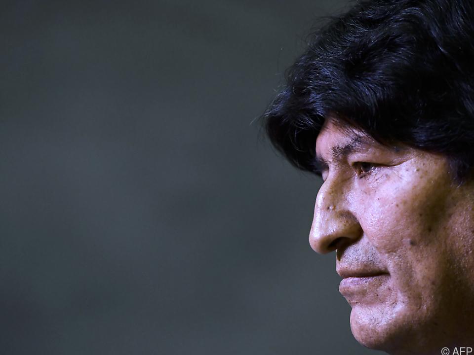 Der 60-jährige bolivianische Ex-Präsident lebt im Exil in Argentinien