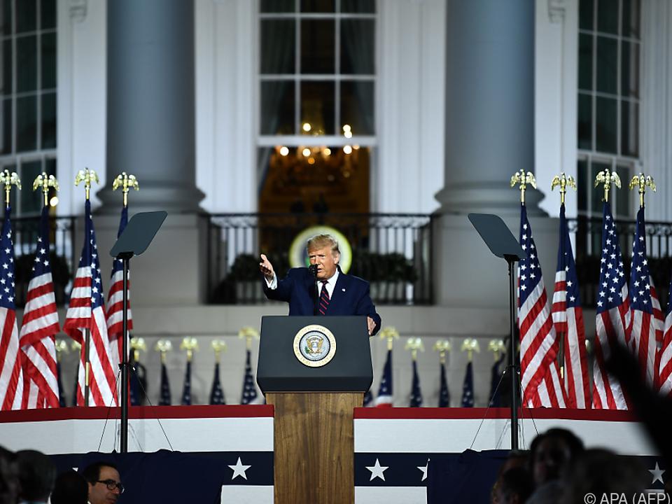 Der Amtsinhaber will den amerikanischen Traum retten
