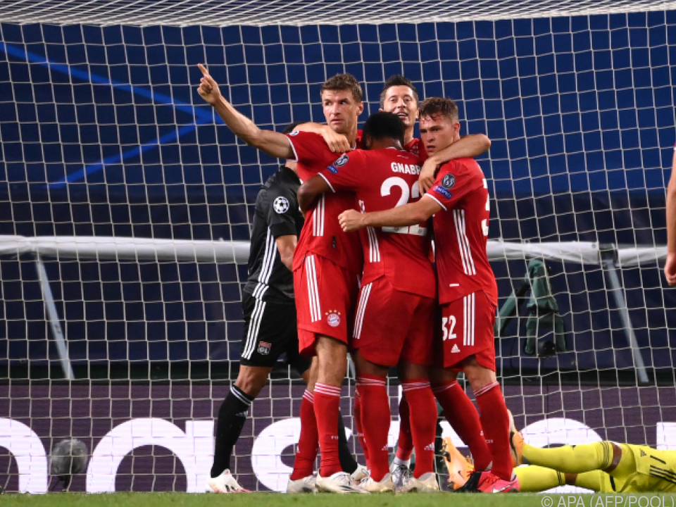 Der deutsche Meister trifft im Finale auf Paris Saint-Germain