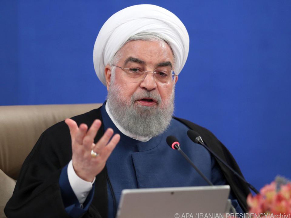 Der iraniche Präsident steht unter Druck