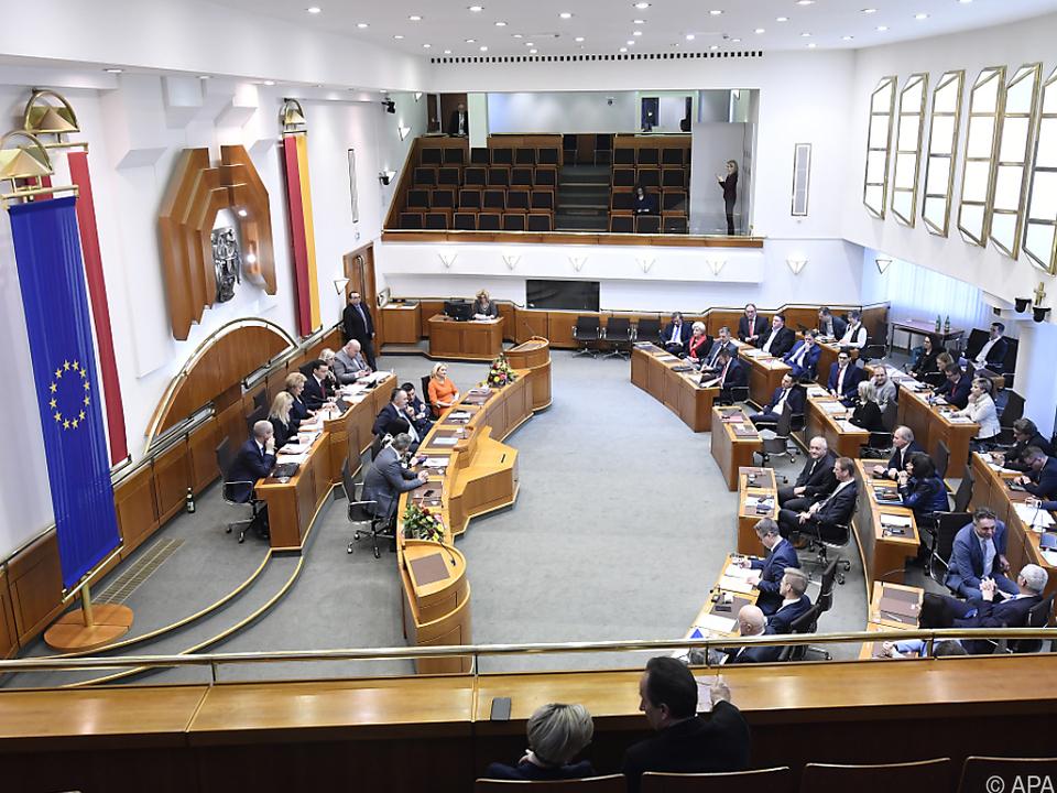 Der Landtag kommt zu einer Sondersitzung zusammen
