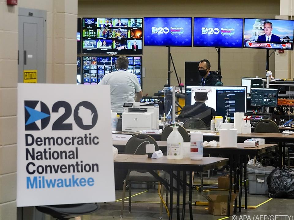 Der Parteitag der US-Demokraten findet coronabedingt online statt