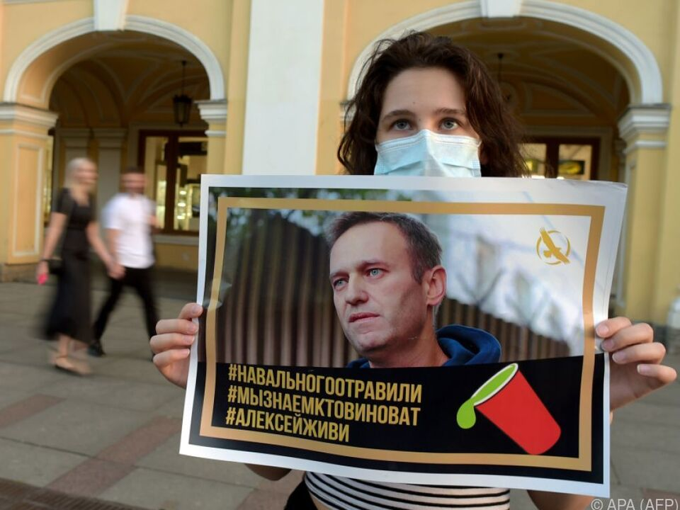 Der Putin-Gegner soll vergiftet worden sein