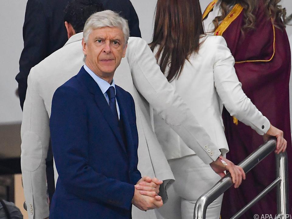 Der Vorstoß kommt von Ex-Arsenal-Trainer Arsene Wenger