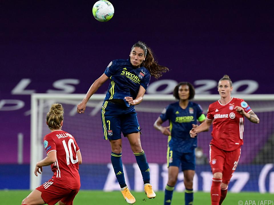 Die Bayern-Damen unterlagen den Titelverteidigerinnen aus Lyon