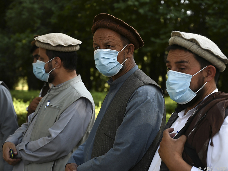 Die Corona-Pandemie macht auch vor der Loya Jirga nicht halt