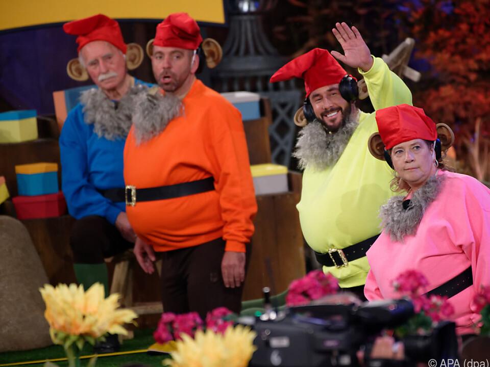 Die Finalisten der Fernsehshow