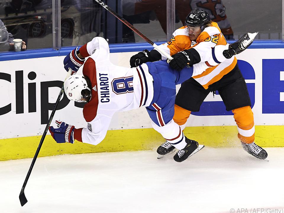 Die Flyers brachten die Canadiens zu Fall
