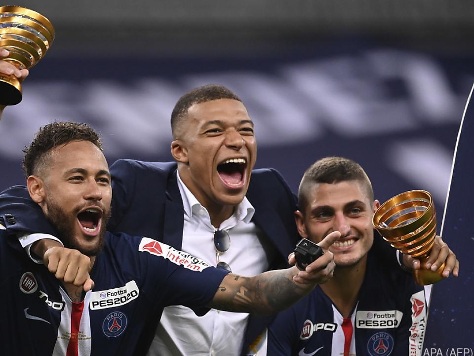 Die Freude bei PSG war groß
