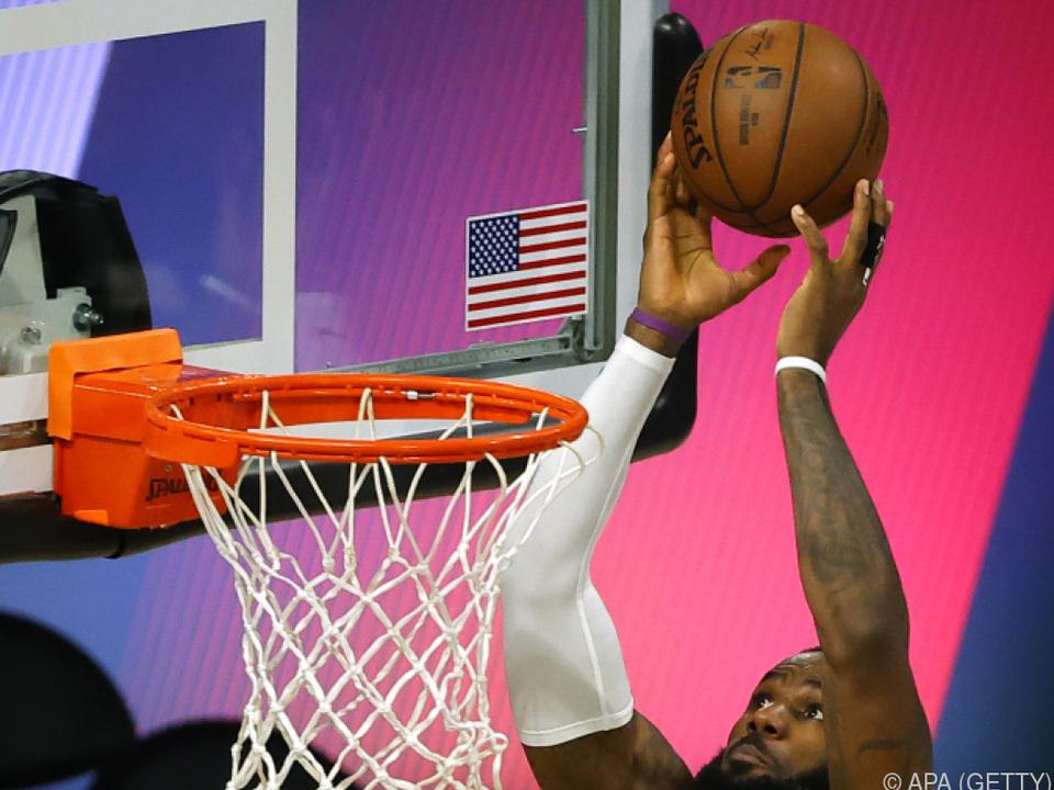 Die Lakers wollen in der NBA triumphieren