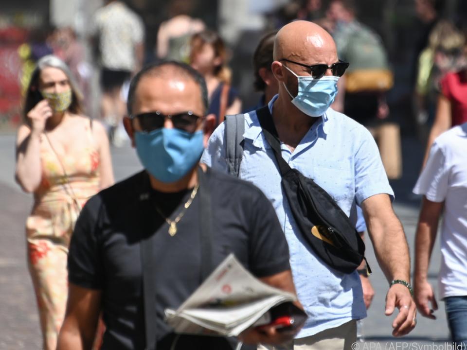 Die Maskenpflicht ist zurück