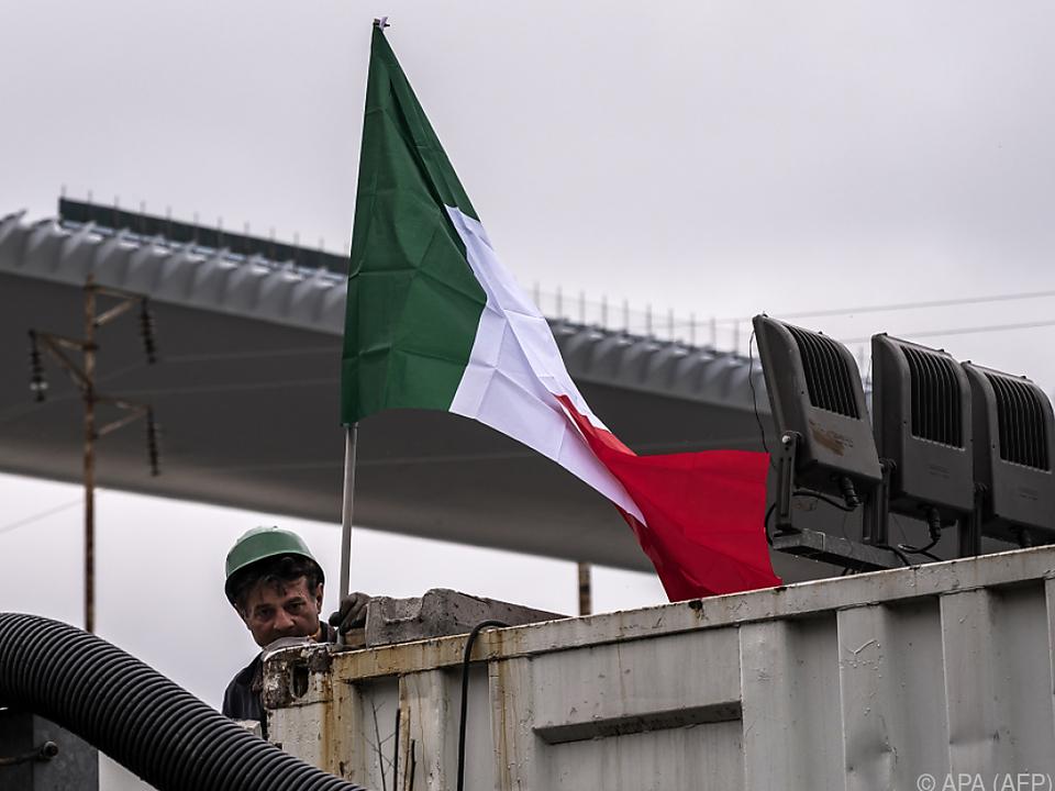 Zwei Jahre nach Einsturz: Neue Brücke in Genua eingeweiht