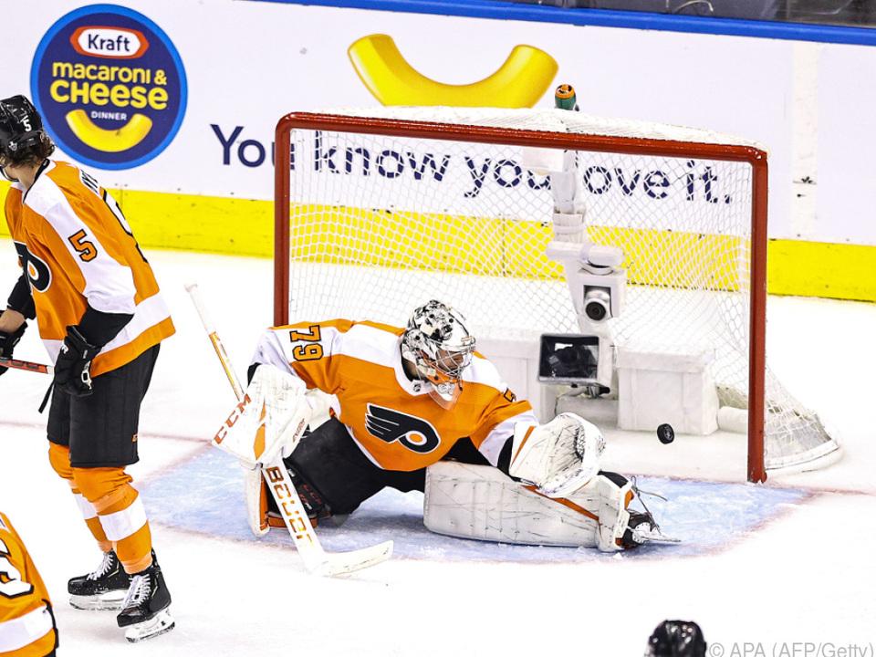 Die Philadelphia Flyers kassierten vier Tore