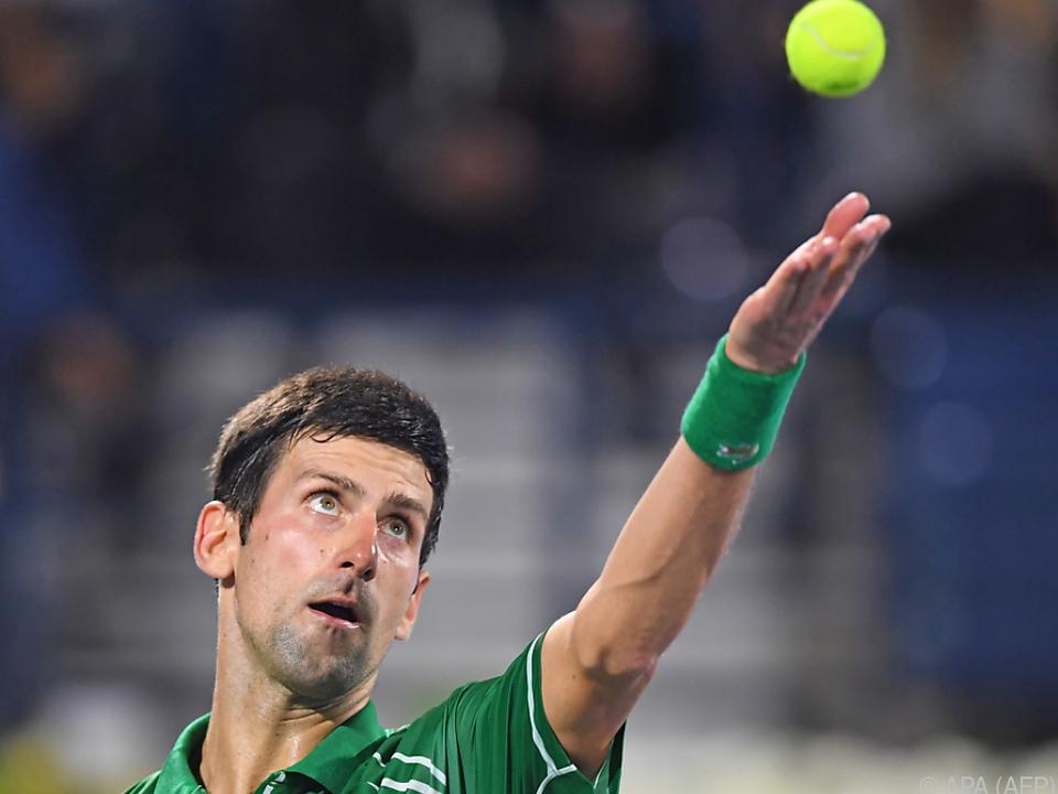 Djokovic in New York mit von der Partie