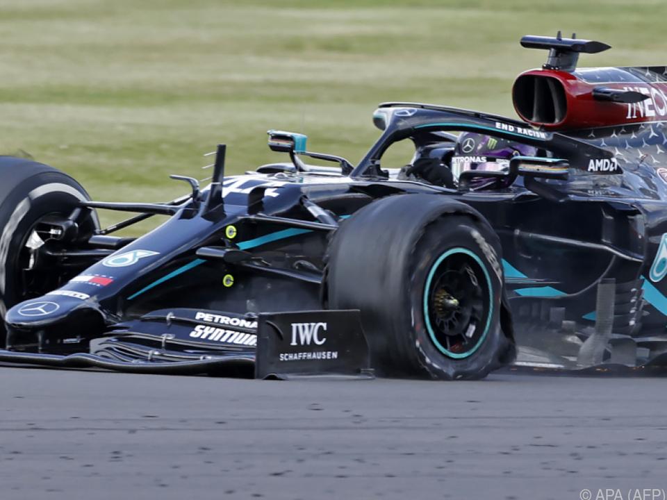 Drei Reifen, drei Siege: Hamiltons Saison läuft trotz P(l)atzern