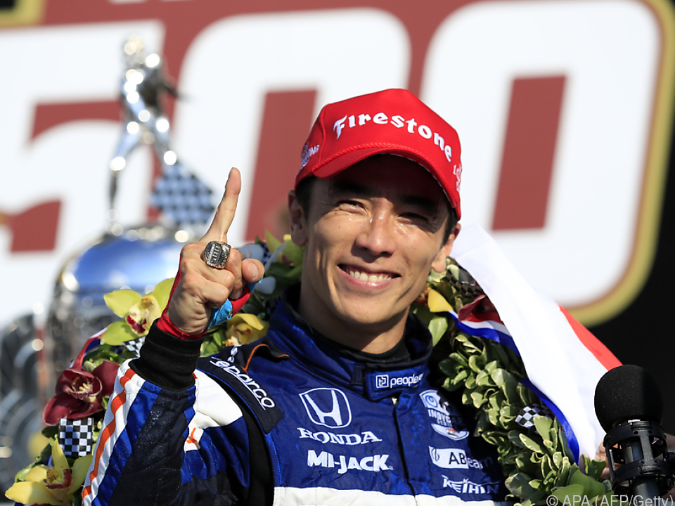 Ex-Formel-1-Pilot Sato gewann den US-Rennklassiker