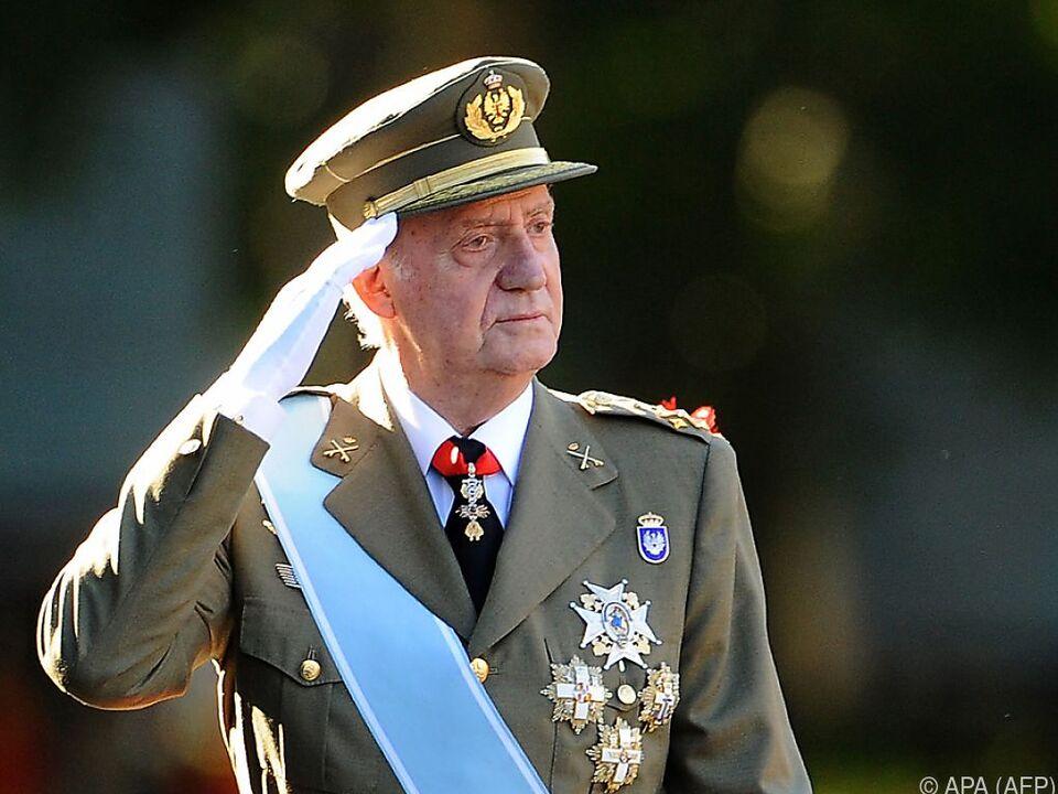 Ex-König Juan Carlos bringt die Royals in eine schwierige Lage