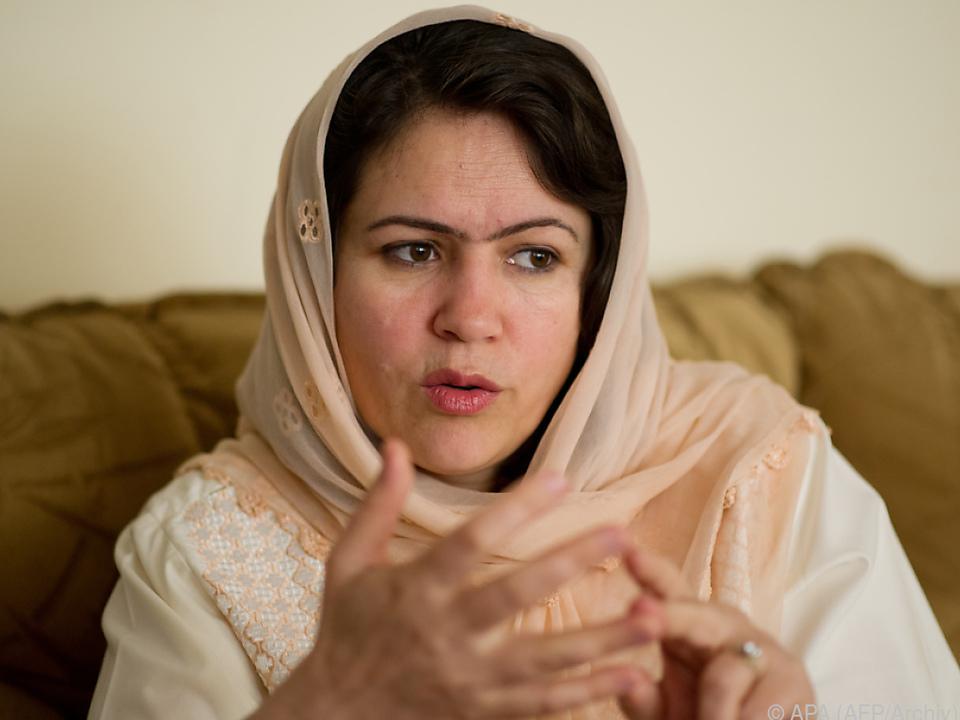 Fawzia Koofi auf einer Aufnahme aus dem Jahr 2012