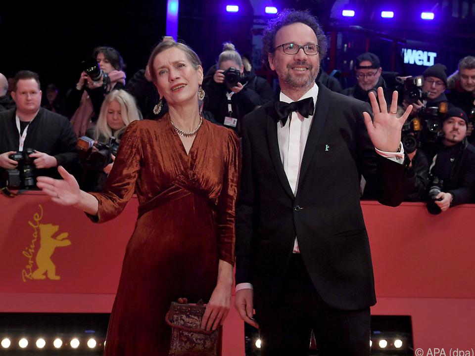 Festivalleiter Mariette Rissenbeek und Carlo Chatrian