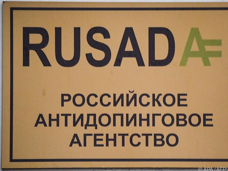Führungswechsel bei der RUSADA