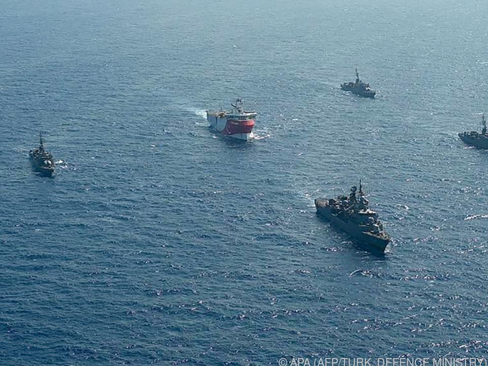 Griechenland und Türkei erheben Ansprüche auf Seegebiete im Mittelmeer