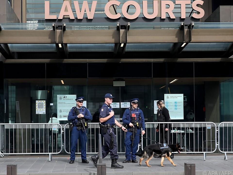 Hohe Sicherheitsvorkehrungen in Christchurch