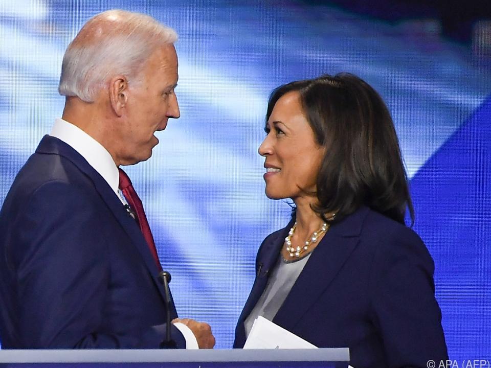 Ihre Beziehung zu Biden gilt als gut