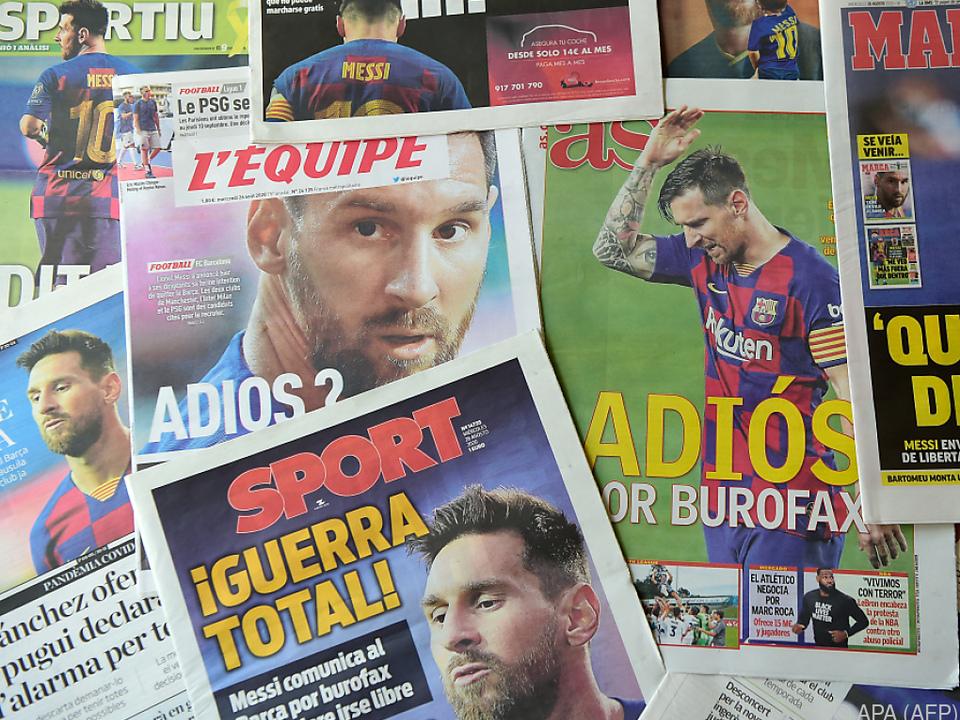 In den spanischen Medien gab es nur ein Thema