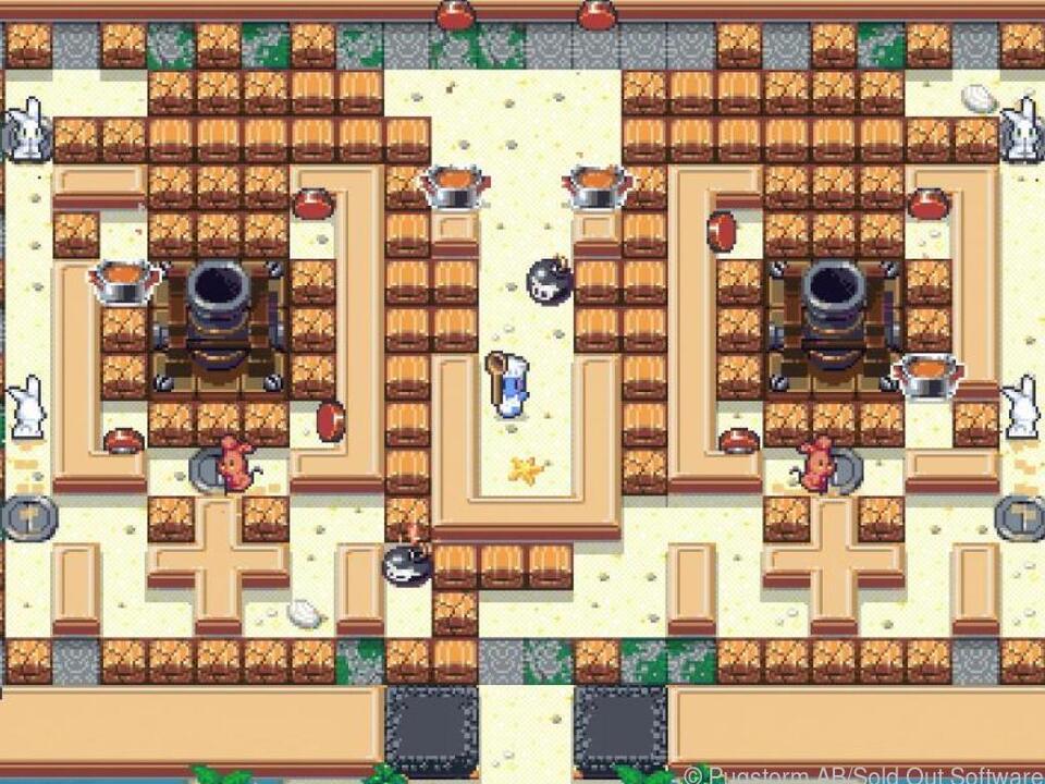 Im Koop-Modus können bis zu vier Spieler gleichzeitig auf Kaninchenjagd gehen
